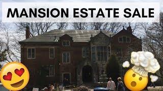 Estate Sale at a Huge Mansion!  Mind Blowing!!