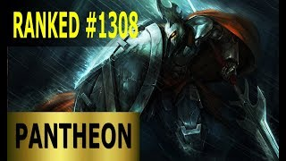 Pantheon Top   Full League Of Legends Gameplay [German] Let's Play LoL   Ranked #1308