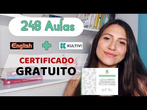 Curso de Inglês + Certificado GRATUITO   Kultivi   (Cursos Gratuitos)