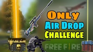Airdrop Challenge in Ranked Match || Garena Free Fire - Desi Gamers