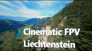 In the Mountains of Liechtenstein 4K | Cinematic FPV