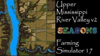 Upper Mississippi River Valley V2 BETA - Map exploration