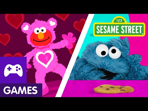 Sesame Street: Valentine's Day Games with Elmo and Abby