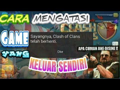 Video CARA MUDAH MENGATASI GAME YANG SERING KELUAR SENDIRI