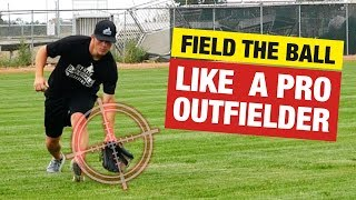 Outfield Tips - Fielding The Baseball In Different Situations!