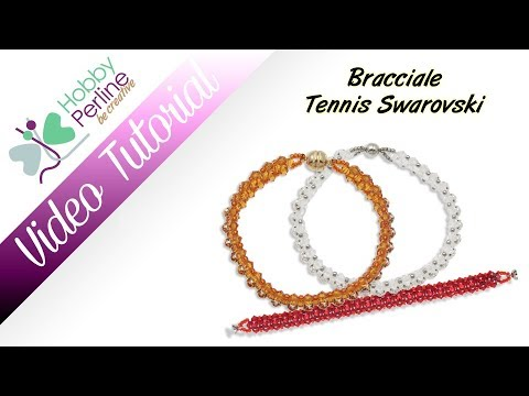 Bracciale Tennis Swarovski | TUTORIAL - HobbyPerline.com