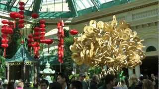Las Vegas Bellagio Casino Year Of The Snake Chinese New Year 2013