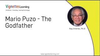 Story-based eLearning Idea: Mario Puzo - The Godfather