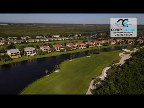 Hammock Bay Golf & Country Club Naples FL 360 aerial Real Estate Homes & Condos