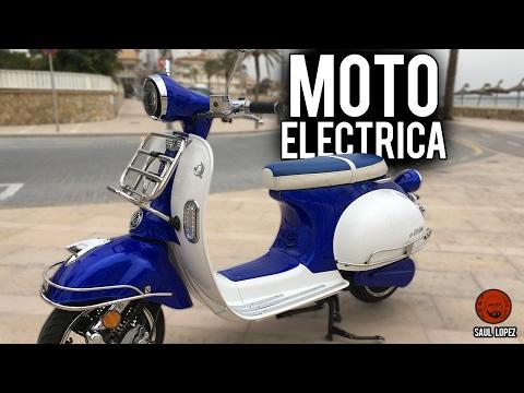 Moto eléctrica: QuaZZar e-Divine: Prueba | Test | Review en español