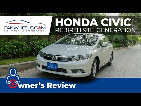 Honda Civic Rebirth 2015 | Owner's Review | PakWheels