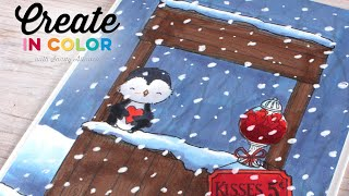 Create in Color with Sandy Allnock - Creating Contrast with Copic Markers