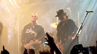 Alter Bridge & Slash - Rise Today, Live @ Arenan 2010