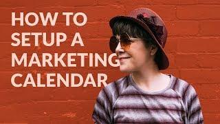 How To Setup A Marketing Calendar For 2020/2021 - FREE Template For Content, Social Media & More!