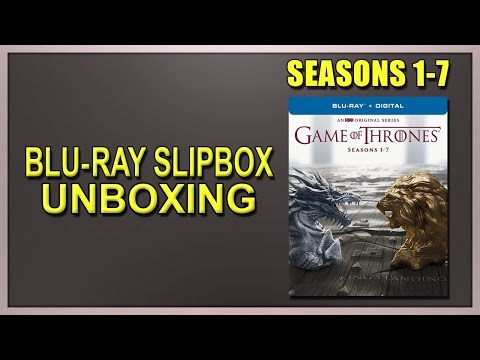 Game of Thrones: Seasons 1-7 Blu-ray Slipbox Unboxing