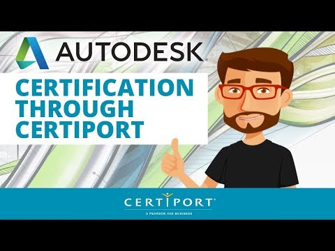 Autodesk Certifications with Certiport - YouTube