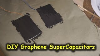 Easy DIY Graphene SuperCapacitors