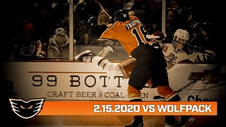 Wolf Pack vs. Phantoms | Feb. 15, 2020