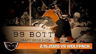 Wolf Pack vs. Phantoms | Feb. 15, 2020
