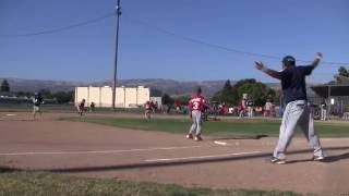 Christian's highlights for 2016 PONY West Zone Section Championship