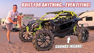 Introducing My Newly BUILT Can-Am Turbo RR!!!! (and Immediately Full Sending It) + Cooper Surprise!