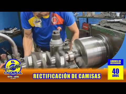 RECTIFICADORA  EL CIGUEÑAL - Rectificación de Camisas (Proceso)