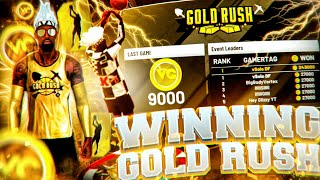 WINNING GOLD RUSH 2 TIMES IN 1 DAY CHALLENGE! FIRST LEGIT GOLD RUSH WINNER IN NBA 2K20? *must watch*