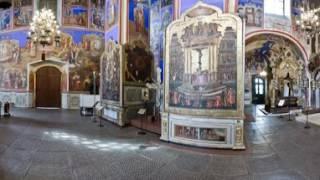 Видео 360.Виртуальный 3D тур по церкви