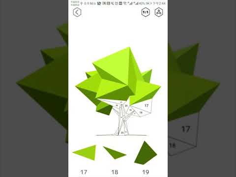 Vídeo do iPoly Art - Jogo de Puzzle para Colorir