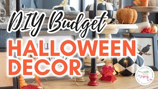DIY Halloween Decorations | Dollar Tree DIY | Budget Halloween Decor