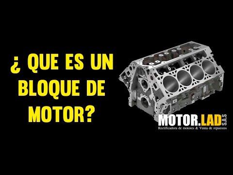 ¿Qué es un bloque de motor?