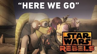 Star Wars Rebels Preview: Wolves and a Door