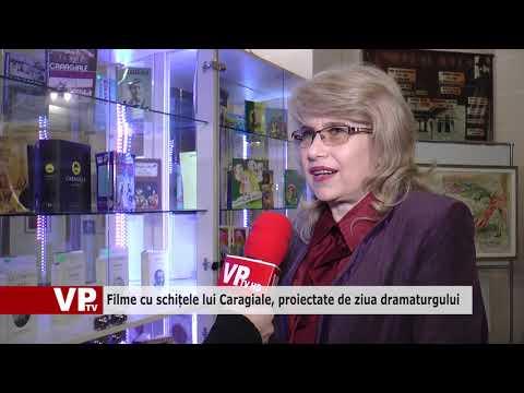 Filme cu schițele lui Caragiale, proiectate de ziua dramaturgului