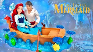 Ariel and Eric ''Kiss the Girl'' Doll Gift set from The Little Mermaid (Unboxing & Review)