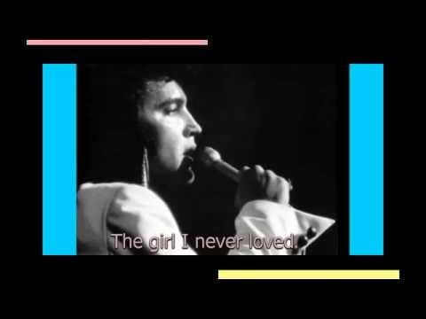 Elvis Presley - The Girl I Never Loved ( take 11 ) with lyrics