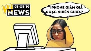 """iPhone SE giảm giá """"sốc"""", Redmi Note 7 có như """"lời đồn"""" I Hinews"""