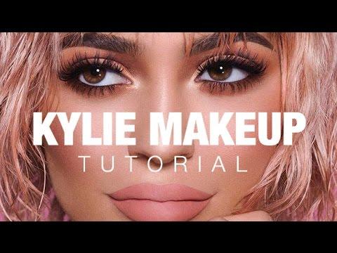 Kylie Jenner Makeup Tutorial | Peachy Bronze Smokey Eye