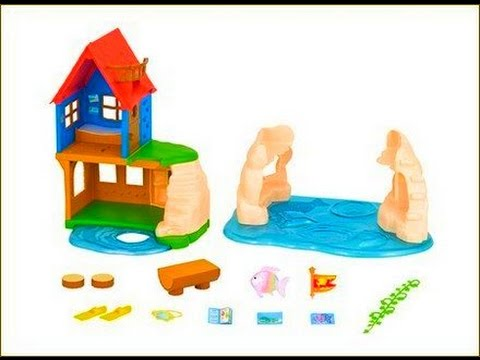 Calico Critters: Secret Island Playhouse - Unboxing, Setup & Play | ThePlusSideOfThings