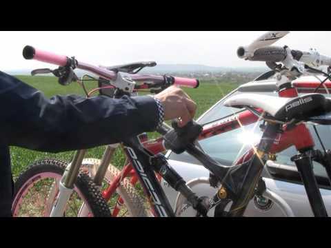 Zadní nosič na kolo HAKR TRIP pro 2 kola Middle