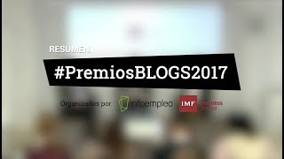 Gala de entrega #PremiosBLOGS2017