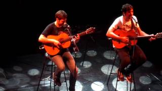 ESTOPA -DESTRANGIS IN THE NIGHT . BOSSANOVA -VUELVO A LAS ANDADAS- GRAN REX 2015-