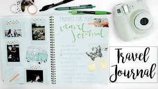 Ideas For Your Travel Journal | Prompts & Tips