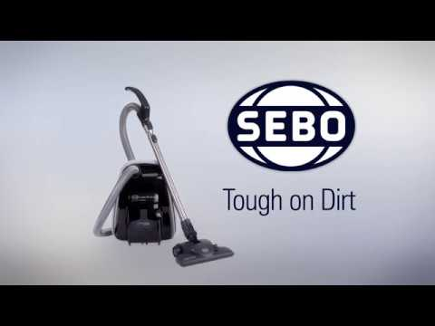 Sebo Cylinder Cleaner 92662GB - Grey Video 1