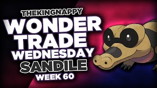 Sandile  - (Pokémon) - Wondertrade Wednesday LIVE! - Week 60 [Sandile]