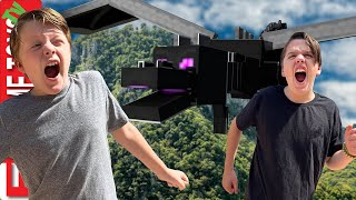 Get to the End Portal Before the Ender Dragon Finds Us! Minecraft Adventure!