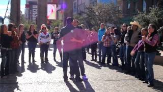 Jason And John's Proposal Flash Mob 11 16 14 Las Vegas