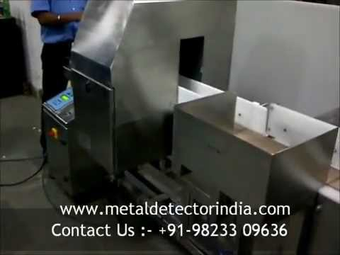 Tunnel Metal Detector