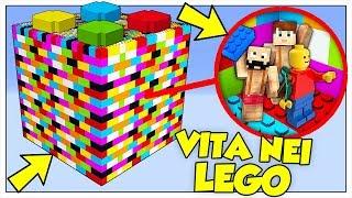SI PUÒ SOPRAVVIVERE IN UN CUBO DI LEGO? - Minecraft ITA