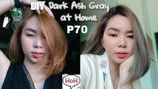 70 PESOS DIY DARK ASH BLONDE 🥰+ DIY HAIR COLOR FOR LESS THAN 100