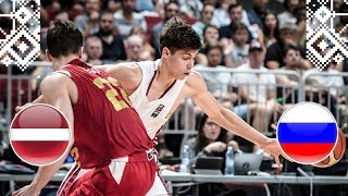 Latvia v Russia - Full Game - Semi-Finals - FIBA U18 European Championship 2018